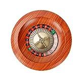 Holz Roulette Rad Set, Roulette Tisch Roulette Rad Set Holz Plattenspieler Roulette Rad Set Spaß...