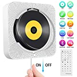 Tragbarer DVD-/ CD-Player, an der Wand montierbarer Bluetooth-CD-DVD-Player, integrierter...