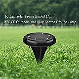 Solar Step Lights Outdoor, Led Solar Decking Light Wasserdichte Beleuchtung Für Garden Yard Ground...