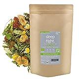 DrinkTea Sleep Tight Gute Nacht Tee | natürlich süß | loser funktionaler Bio Kräuter-Tee |...