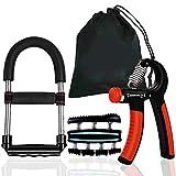 LWQ Multifunktionshandgriff-Handgelenk-Stärkungsmittel, Ausrüstung Verstellbare Unterarm Grip...