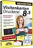 Visitenkarten Druckerei 8.5 - professionelle Visitenkarten gestalten und drucken für Windows 10 /...