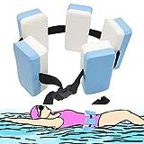 INHEMI Verstellbarer Schwimmgürtel,Schwimmlernhilfe mit Fünf Auftriebskörpern Schaum und...