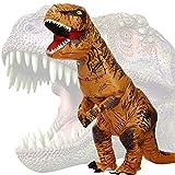 JASHKE Trex Kostüm Aufblasbare Kostüme Tyrannosaurus Rex Anzug Dinosaurier Kostüm Erwachsene...