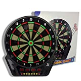 XQHD Electronic Dartboard Darts, Dart Machine with 12 Darts Dartscheibe Elektronisch 27 Games and...