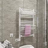 KaiKai Elektrische Handtuchwärmer, Wand- 304 Edelstahl Rundstange heiße Handtuchwärmer...
