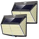 Vighep Solarleuchten für außen, 【2 Stück 228 LED】3 Modi 270° superhelle solarlampen für...