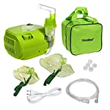 Omnibus BR-CN116B Inhaliergerät Inhalator Aerosol Therapie Vernebler Inhalation Kompressor (Grün -...