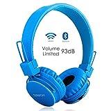 Termichy Bluetooth Kopfhörer Kinder mit 93dB Lautstärkebegrenzung, Faltbare Tragbare Leicht...
