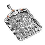 JWWOZ 925 Sterlingsilber for tibetische Thangka, Silber Fall Silber Amulett,...