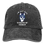 XTTGGD Hundebesitzer Haustier Welpe Geschenk Baseballmütze Cowboyhut Schirmmütze Cowboyhüte...