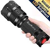 REHKITTZ LED Taschenlampe,Extrem Hell CREE Handlampe fr Camping,Ausrstung,Militr,Outdoor,Zoombarer...