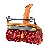 Bruder 02349 Zubehr: Schneefrse, orange