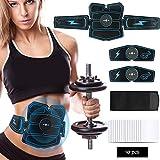 Muskelstimulator EMS Abs Trainer Fitness Training Gear Bauchmuskeln Toner USB Wiederaufladbare...