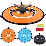 WisFox Drone Landing Pad, Universal Waterproof D 75 cm / 30 '' Tragbare faltbare Landing Pads für...