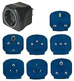 Brennenstuhl Reisestecker-Set / Reiseadapter-Set (Reise- Steckdosenadapter mit verschiedenen...