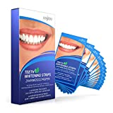 Zahnaufhellung, White Strips, Zahnbleaching-Set, Anjou Zahnweistreifen, Zahnpflege Bleaching,...