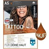 SKULLPAPER® temporäre Tattoo-Transferfolie FÜR DIE HAUT - SEHR GUT getestet - für...