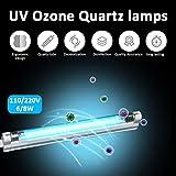 azfdxgfc Glhbirne UV Ozon Lampe UV-C Lampe 8W fr Haus Schrnke Schuhschrnke Luftreiniger Reiniger...