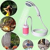 8bayfa Tragbare Außendusche, batteriebetriebene - Kompakthand Wiederaufladbare Camping Showerhead -...