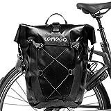 LEMEGO Gepäckträgertasche mit Schultergurt, 27L Hinterradtasche Rucksack wasserdichte...