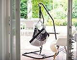 AMAZONAS Federwiegenset - Babyhängematte go2sleep mit Sichtfenstern + Matratze + Gestell Juno