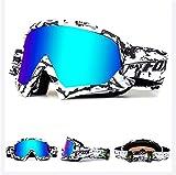 IHRKleid Motorrad Goggle Motocross Wind Staubschutz Fliegerbrille Snowboardbrille Schneebrille...
