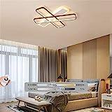 JXJ Deckenleuchte LED Dimmbar, Moderne einfache Büro-Deckenleuchten Kreative Dimmlampe für...