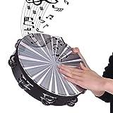 MU Kinder Spieluhr Bewegliche Holz Radiant Tambourine Handbell Handtrommel Mit Zweireihig Jingles...