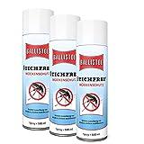 Klever Ballistol Stichfrei Mückenschutz Spray Zecken Bremsen Moskito Schutz, 3 x 500 ml