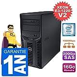 Dell Server PowerEdge T110 II Xeon QuadCore E3-1220 V2 16 GB 300 GB Perc H200 SAS (Generalberholt)