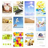 Edition Seidel Set 12 Kommunionskarten mit Umschlag - Glückwunschkarte zur Kommunion -...