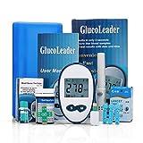 CKCY Diabetes Testing Kit Blutzuckermessgerät, Test Stripsx50 & Blutentnahme Needlex50...