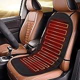 Navaris Auto Sitzheizung Sitzauflage 12/24V - 2 Heizstufen - 95x45cm - Autositz Heizung Auflage -...