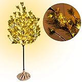 CCLIFE LED Kiefern Baum innen Außen Weihnachten Christbaum Lichterbaum warmweiss Kaltweiß...