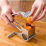 Käsereibe, For Kuchen-Schokoladen-Fondue Kochen Backen Werkzeuge Rotary Käsereibe Edelstahl...