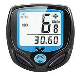 DINOKA Fahrradcomputer Digital, Drahtlos Fahrradtacho, Wasserdicht Kabellos Kilometerzähler mit...