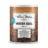 Wasserabweisende Lasur (Lack) mit Satinierung Oberfläche Wasserbasiertem - Wasserdichter Schutz mit...
