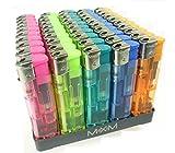 10 Stück Elektronik Feuerzeuge, nachfüllbar und in tollen bunten trendy Farben