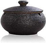 Sayopin Aschenbecher mit Deckel für Draußen, Keramik Taschenaschenbecher Windaschenbecher,...