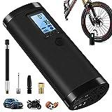 VEEAPE Elektrische Digitale Reifenpumpe mit 2000mAh Akku, 100PSI Fahrradluftpumpe Kompressor mit...