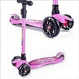 BAYTTER Kinderscooter Dreirad mit verstellbarem Lenker Kinderroller Roller Scooter fr Kinder ab 3 4...