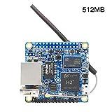 SUNERLORY Entwicklungsplatine Orange Pi Zero H2-Computer Quad-Core Hochleistungs-Tool mit 256 MB und...