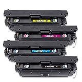 AAMM CF360A Tonerkartusche für HP Color Laserjet Enterprise M553n 553X 553dn M552dn M577dn M577f...
