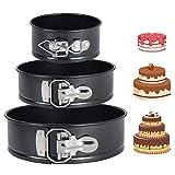 DMAIPUK Kuchenform Rund Inspiration Springform Cake Pans Runde Backform mit Flachboden Kuchenformen...