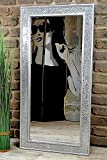 Livitat® Wandspiegel 100 x 50 cm Spiegel Mosaik Badspiegel mit Glasmosaik Crackle LV9052