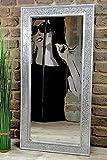 Livitat Wandspiegel 100 x 50 cm Spiegel Mosaik Badspiegel mit Glasmosaik Crackle LV9052