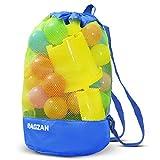 Strandspielzeug Tasche Beach Bag Strandtasche RAGZAN, großer Kordelzugrucksack für Kinder...
