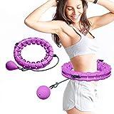UNEEDE Hula Hoop, Einstellbar Breit Hula Hoop Reifen Fitness mit Massagenoppen für Kinder...