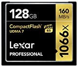 Lexar Professional 128GB 1066x Speed 160MB/s Compact Flash Speicherkarte